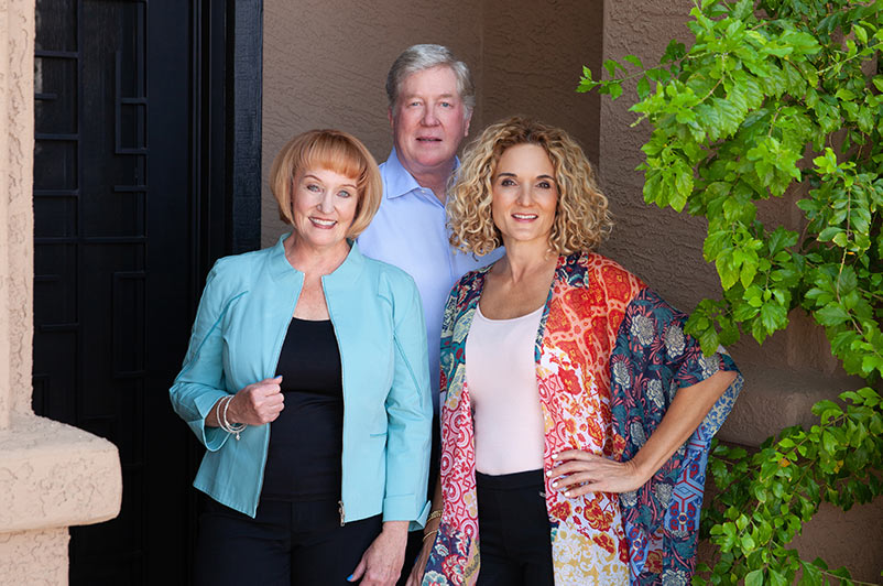 Meet our Coaches | Janis Milham | Allan Milham | Kris Harmelink | Experienced Professionals Providing Expert Executive Coaching | High Impact Women's Leadership Roundtables and Transitions | Questage is for self aware leaders ready to elevate themselves