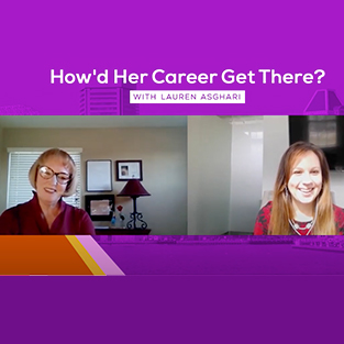 How Did Her Career Get There with Lauren Ashgari | Watch on YouTube